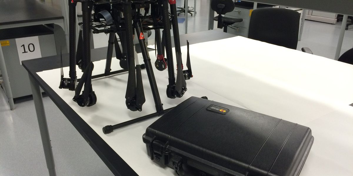 WCU develops drone with medical kit, live video capability to aid patients