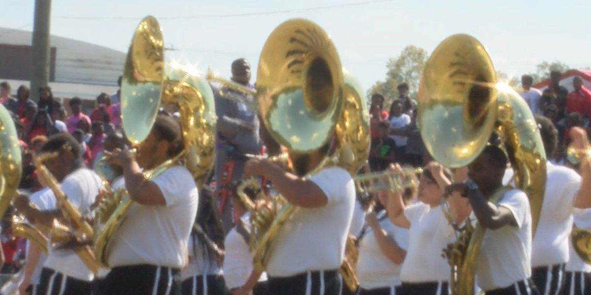 "Prentiss woman brings Prairie View's ""Marching Storm"" to perform for hometown students"