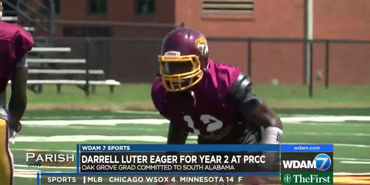Darrell Luter looks forward to bigger role as PRCC sophomore