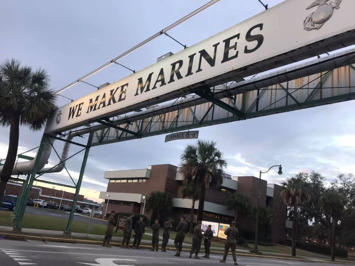 FCAHS teachers experience Marine Corps boot camp