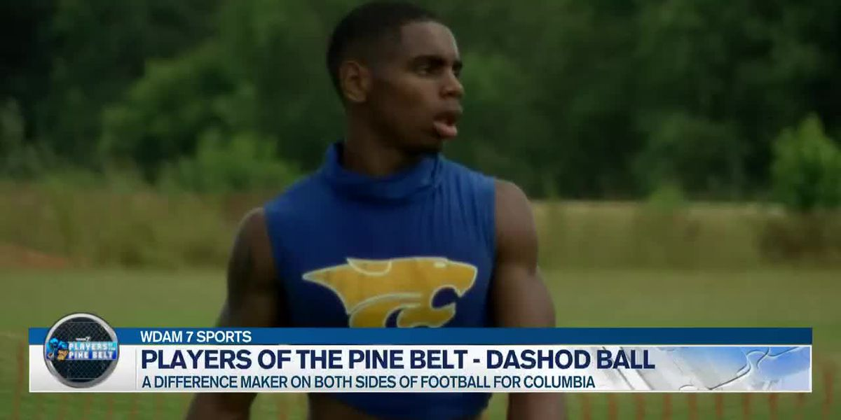 Players of the Pine Belt: Columbia's Dashod Ball ready for leadership role