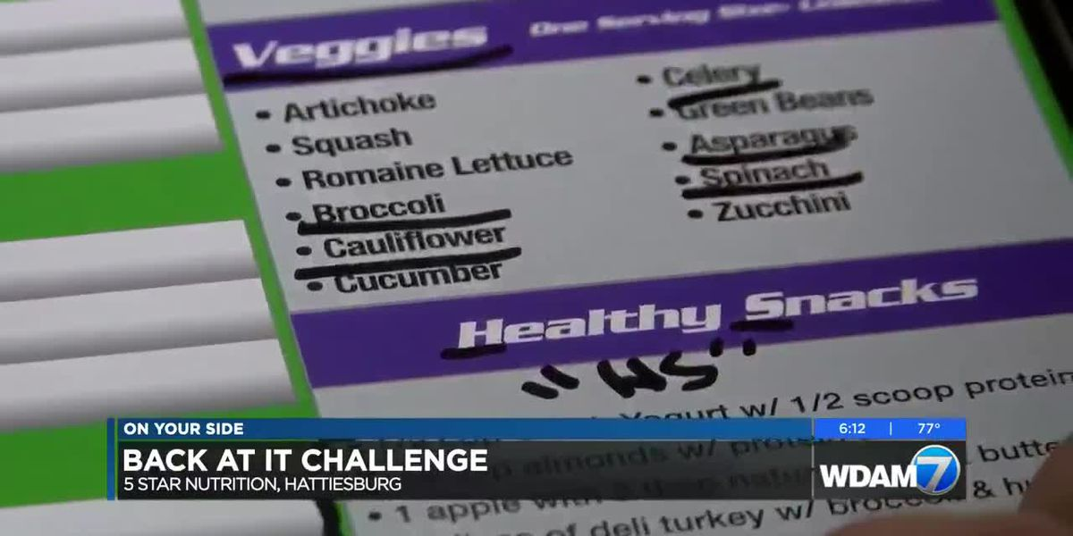 """""""Back at it Challenge"""" weight loss competition kicks off"""