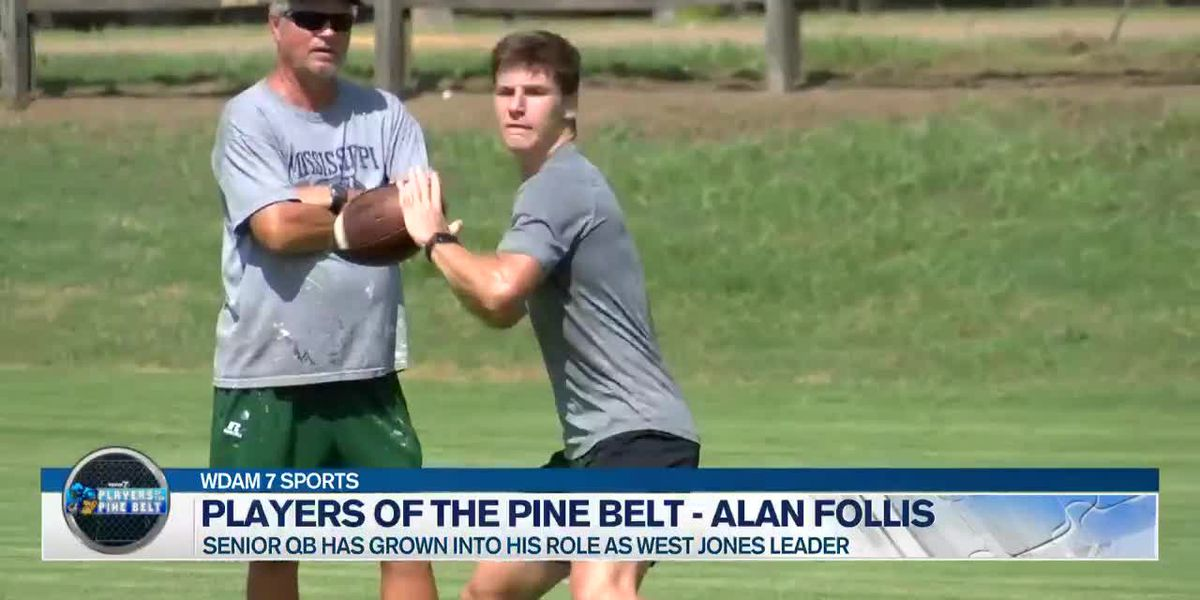 Players of the Pine Belt: West Jones QB Alan Follis primed for senior season