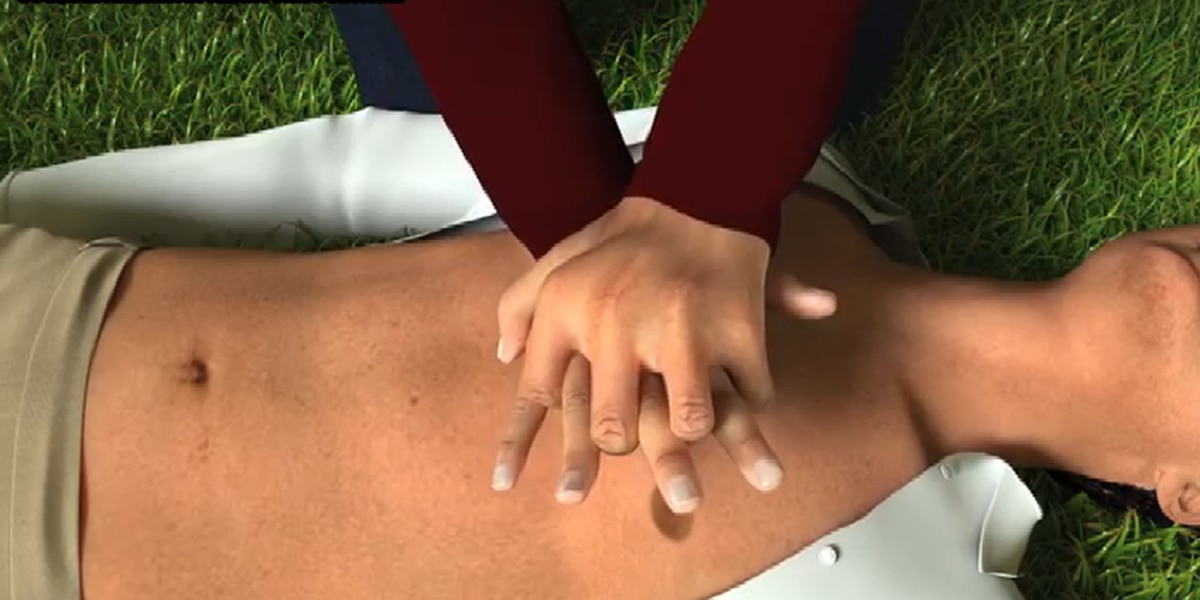 Free 'Hands-only CPR class' to be offered by Hattiesburg Clinic