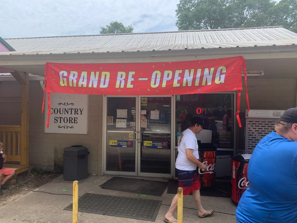 Janice Country Store hosts grand reopening, proceeds to local first responders