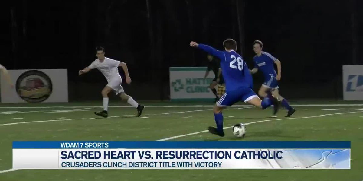 Sacred Heart soccer sweeps region titles