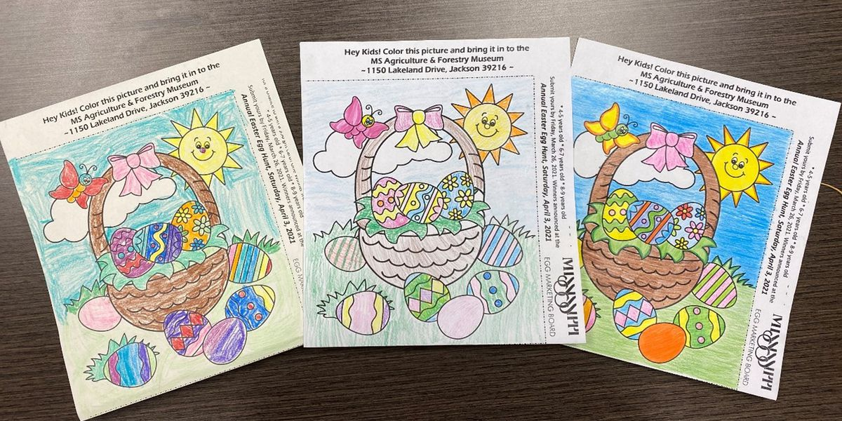 Sumrall kindergartner takes top spot in Easter coloring contest
