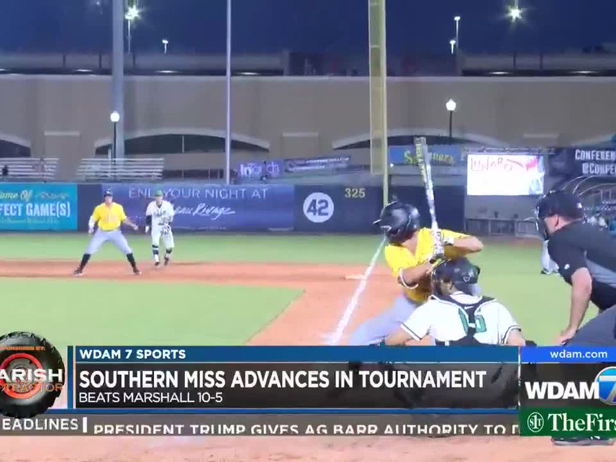 Southern Miss defeats Marshall 10-5 in C-USA tournament