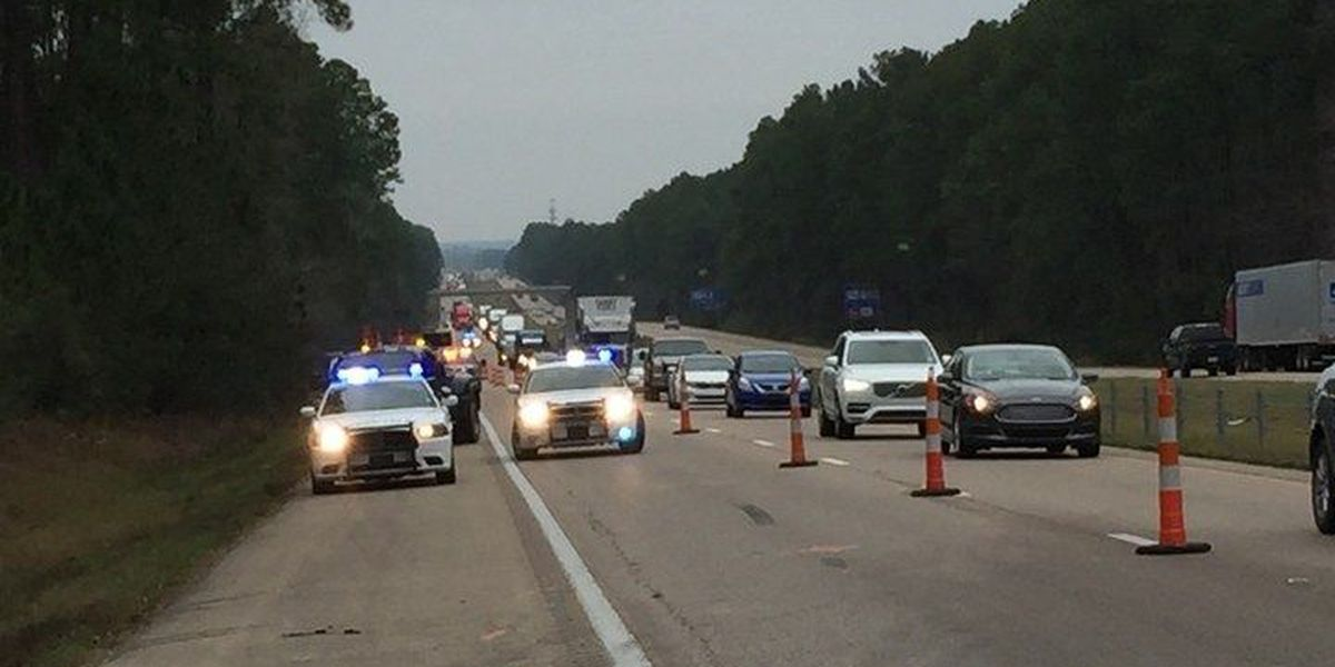 Wreck reconstruction causing I-59 traffic delays