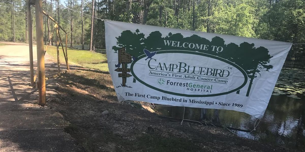 Cancer patients and survivors attend Camp Bluebird