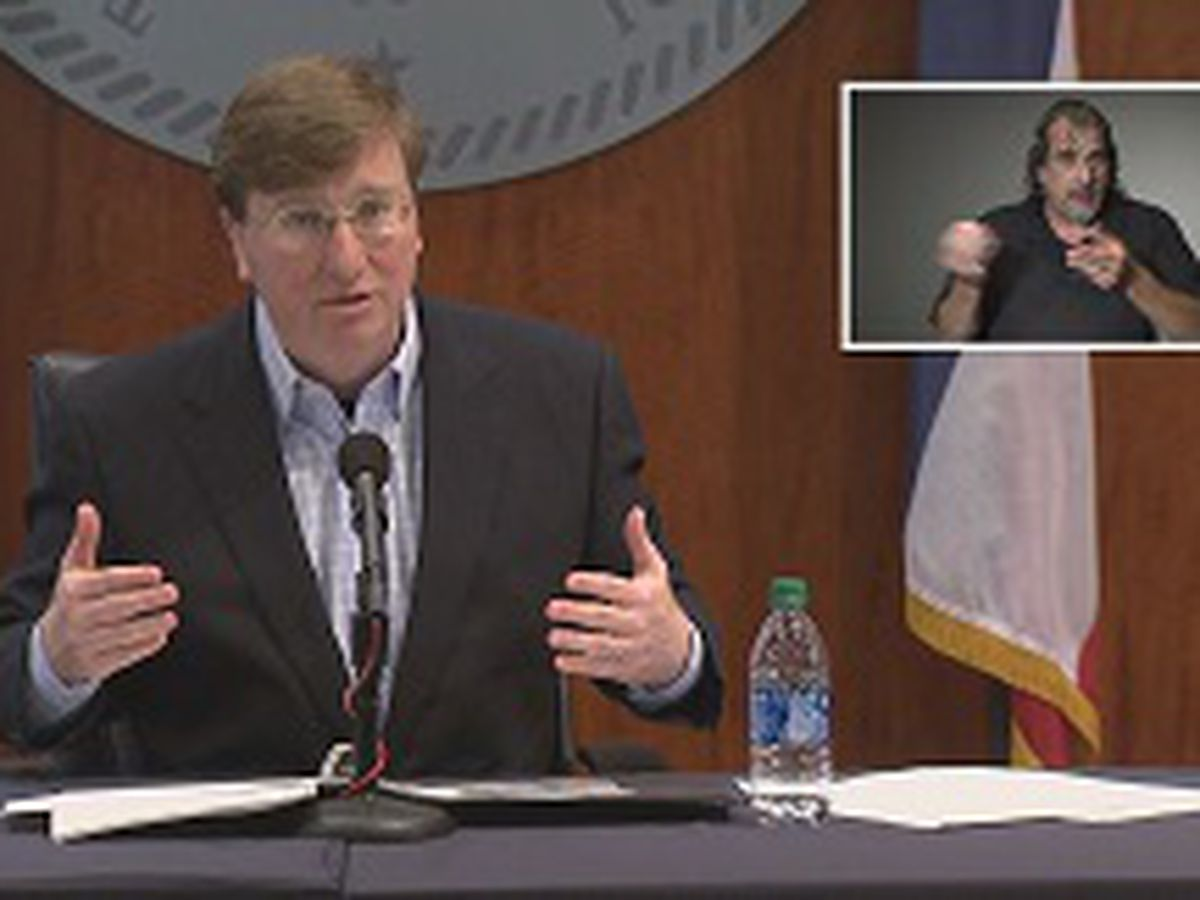 Governor Tate Reeves gives update on DMV offices in the state