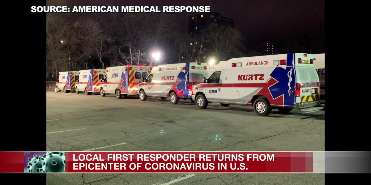 Local EMT travels to New Jersey to aid in coronavirus fight