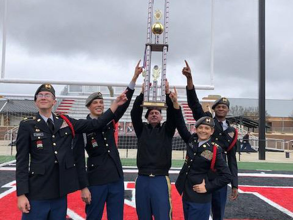 Petal High School JROTC wins state championship
