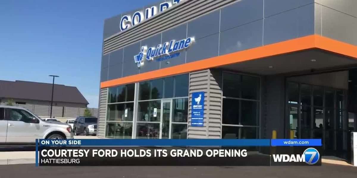 Courtesy Ford celebrates grand opening of new dealership