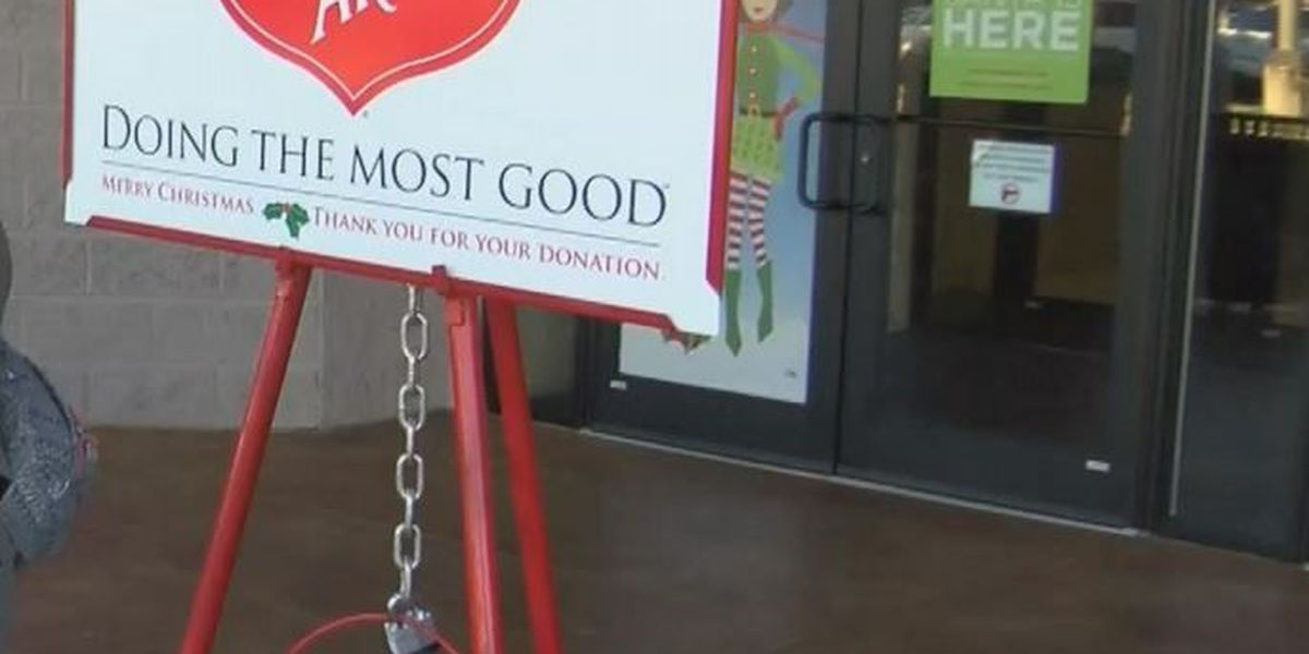 Several kettles stolen from Salvation Army of Hattiesburg