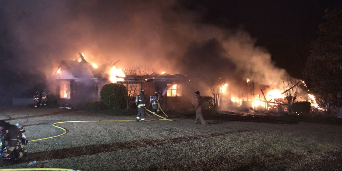 Local firefighter helps family escape house fire in Jones Co.