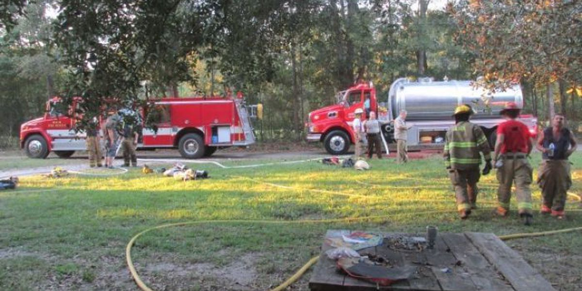 Firefighters' quick response saves home