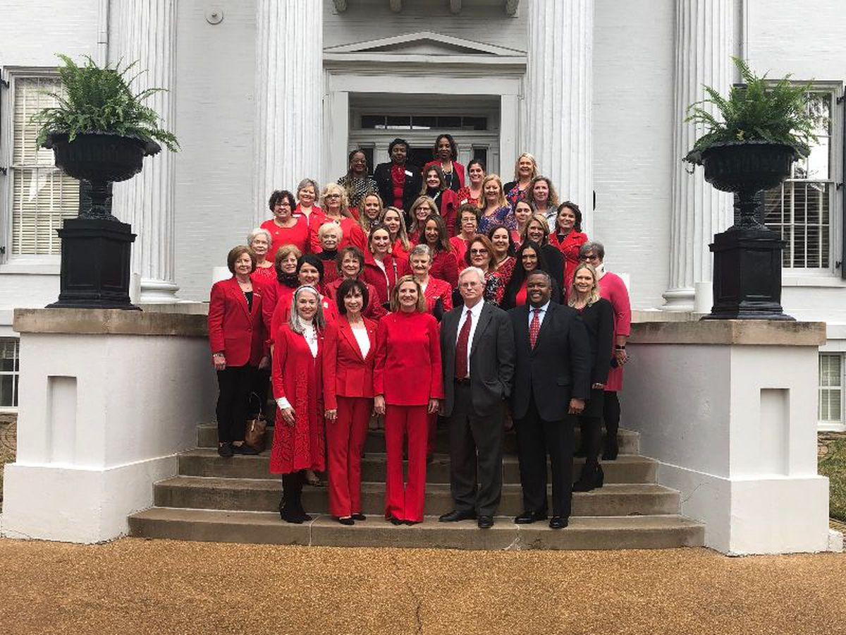 First Lady Elee Reeves brings awareness to heart disease at Governor's Mansion