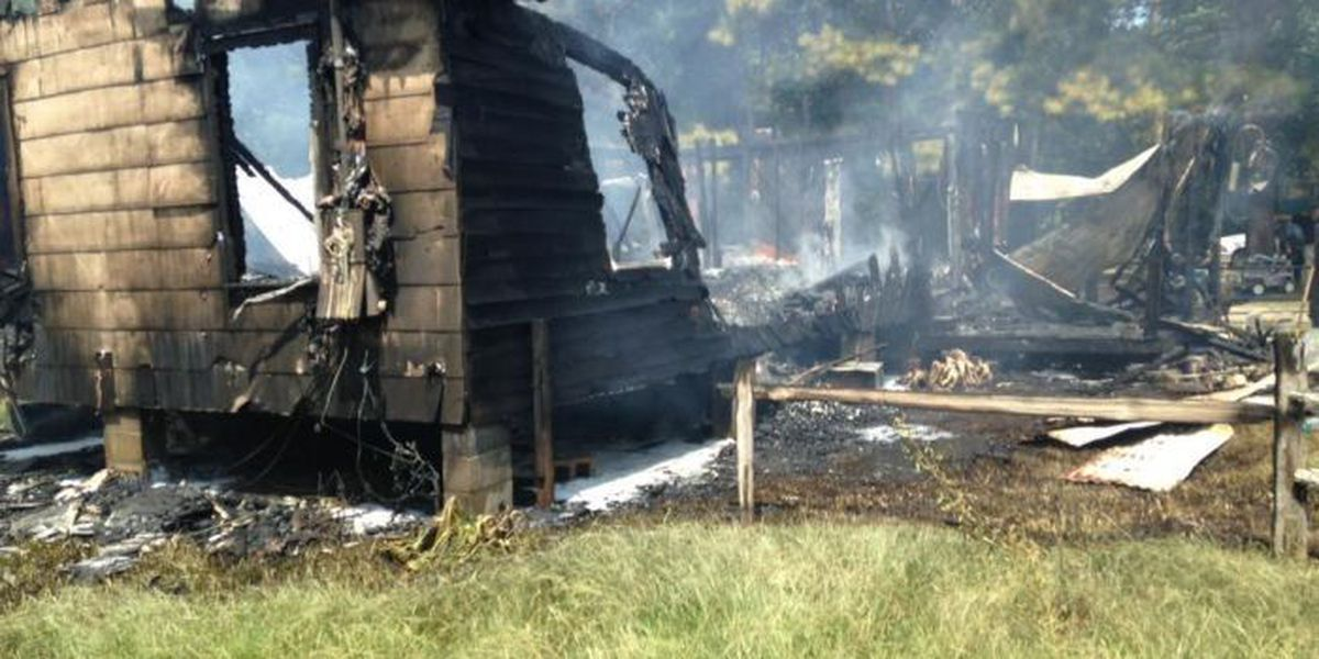 Fire destroys Forrest County home