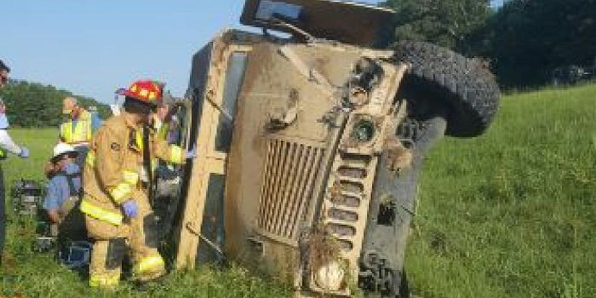 Soldiers involved in Humvee accident identified