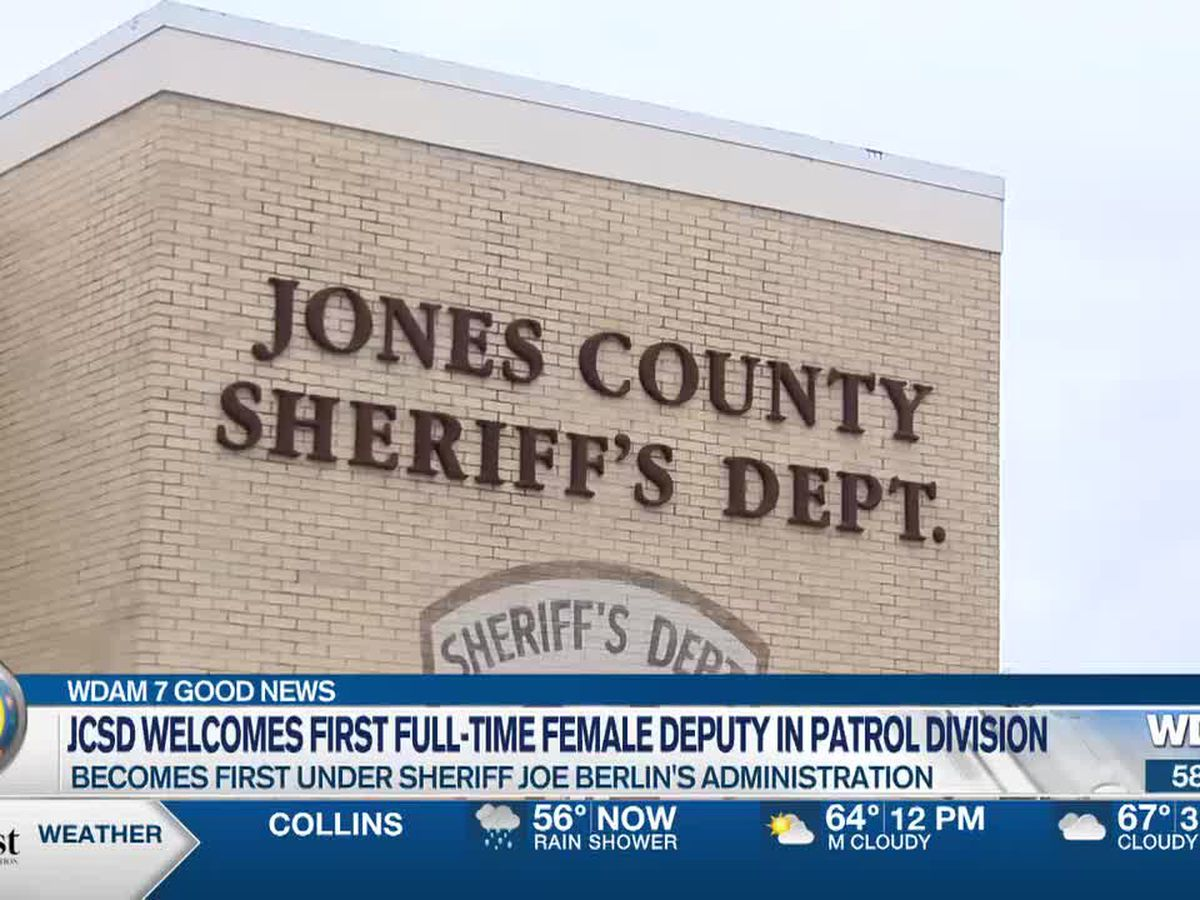 JCSD welcomes first full-time female deputy in patrol division