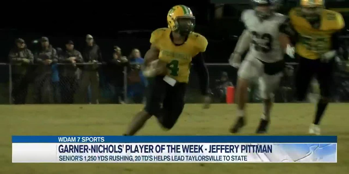 Player of the Week - Taylorsville's talented tailback Jeffery Pittman