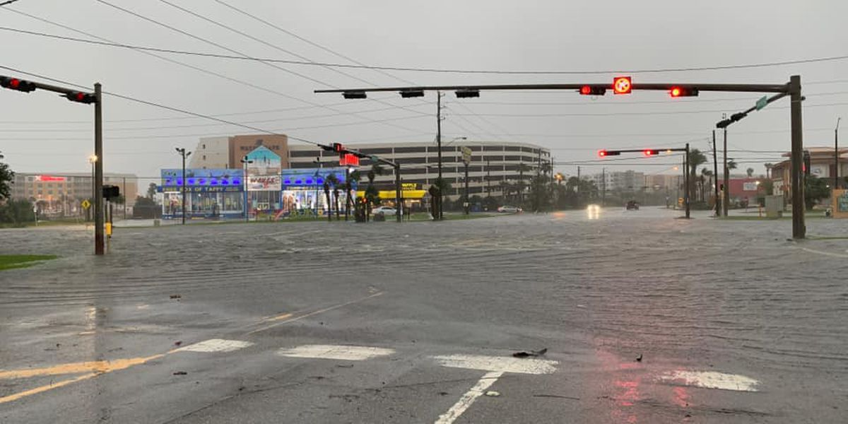 PHOTOS: Flooding & storm damage from Hurricane Sally extends into Florida