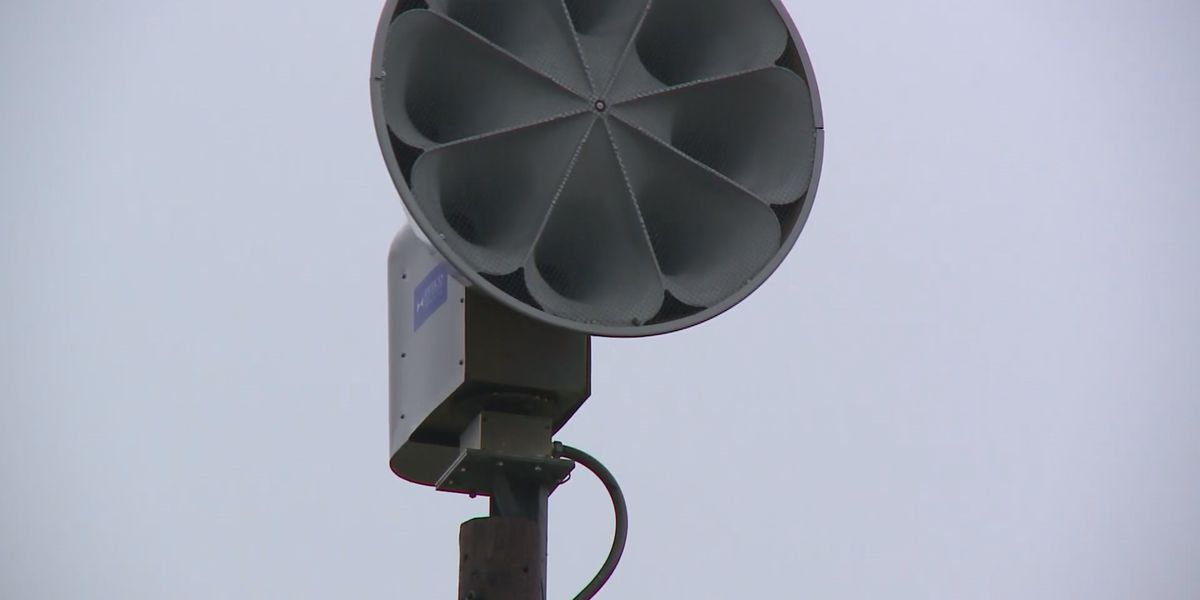 Test of Hattiesburg weather sirens delayed 'til 4 p.m. Monday