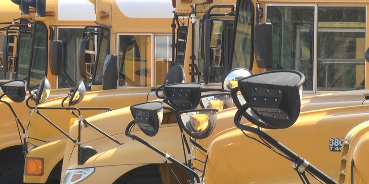 Sixty-six batteries stolen from 33 school buses in Jackson County