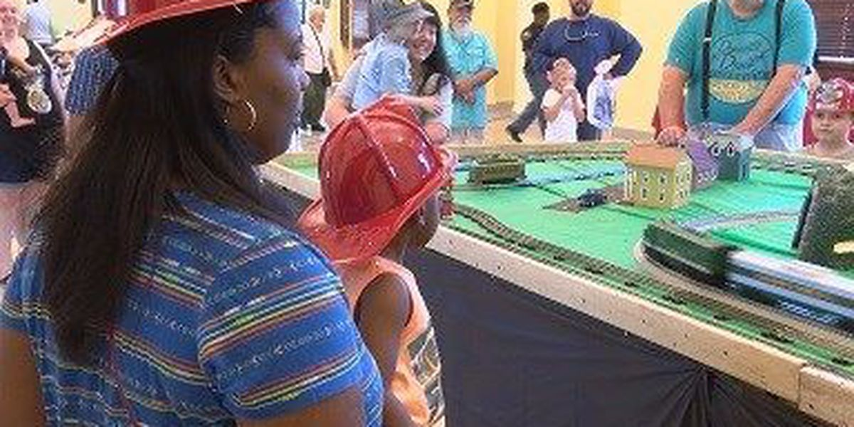 Hattiesburg hosts Train Day event at historic depot