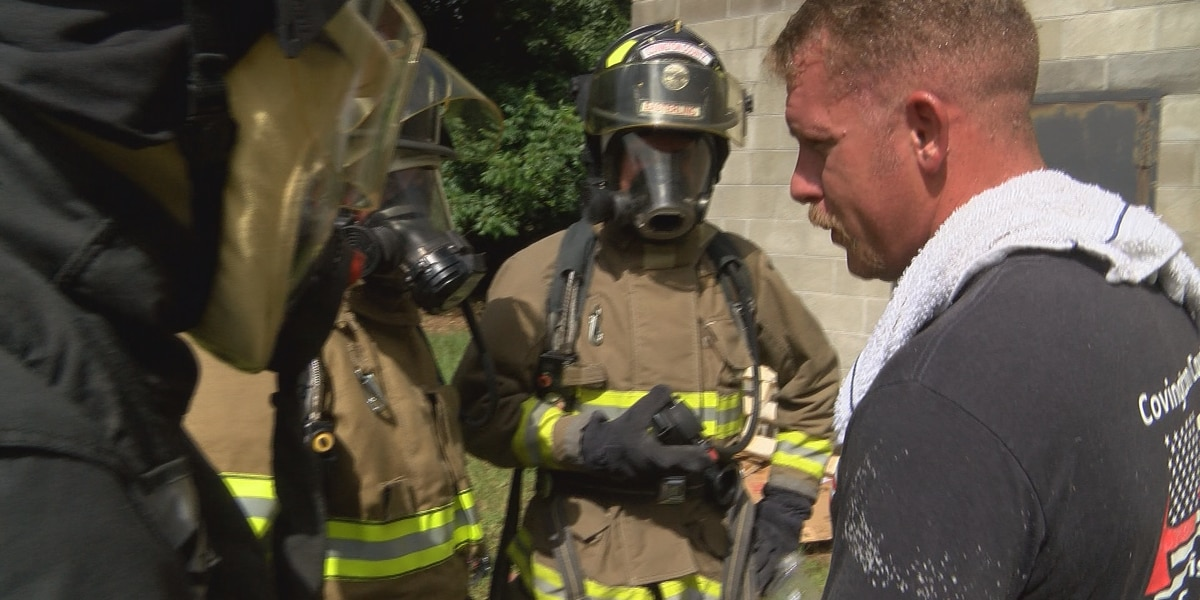Covington County Level One firefighter certification course nearing completion