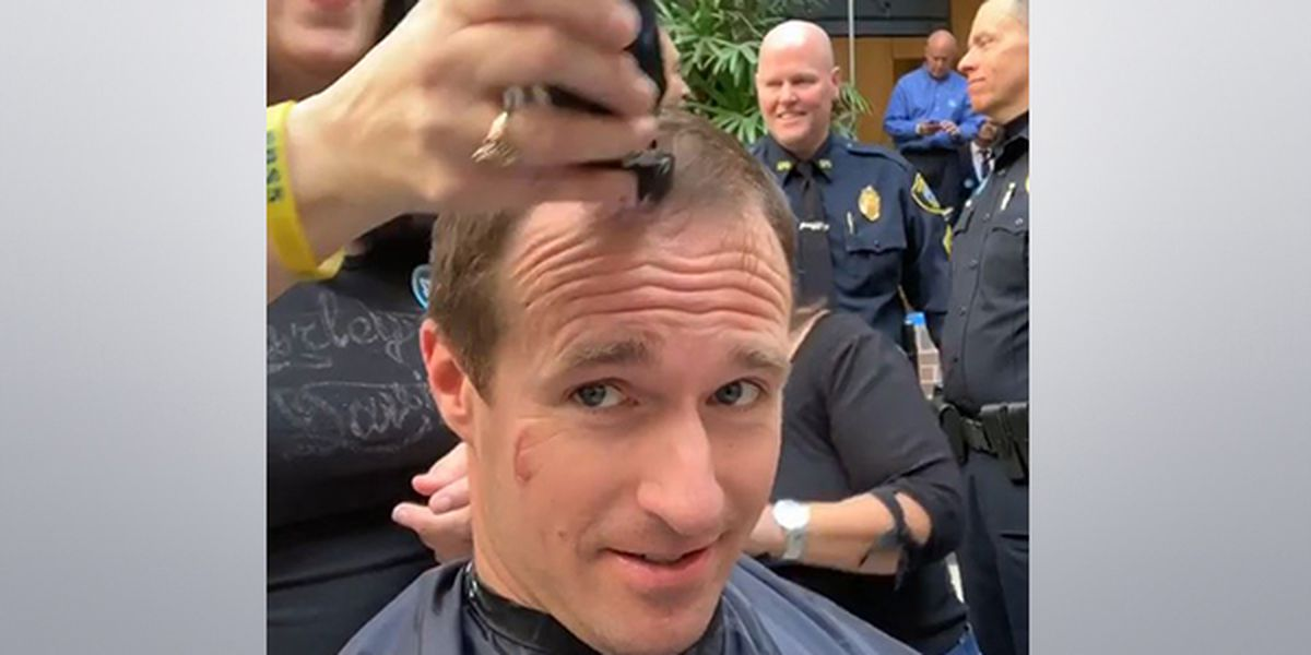 Drew Brees gets a buzz for charity