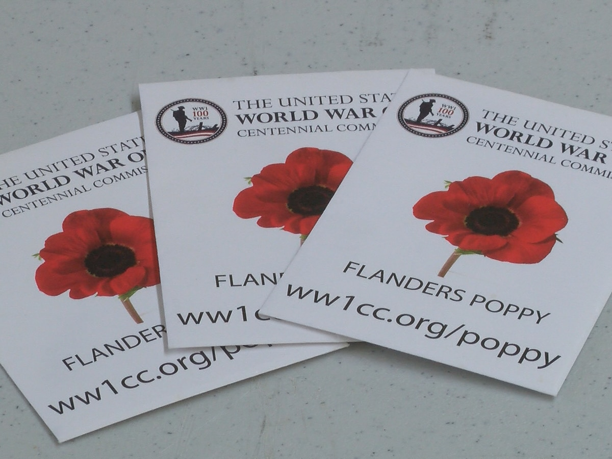 Columbia American Legion post to hand out red poppies for Memorial Day