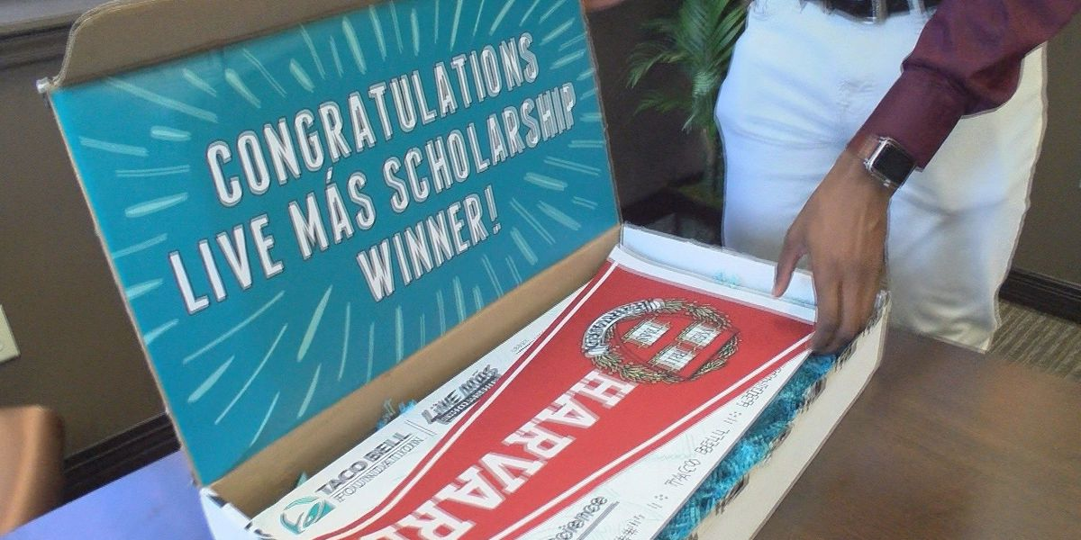 Oak Grove Senior accepted to Harvard earns Taco Bell scholarship