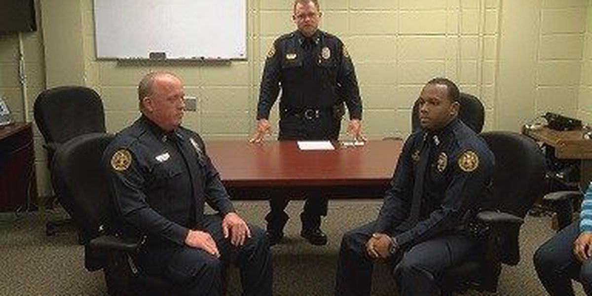 UPD promotes two officers in Friday ceremony