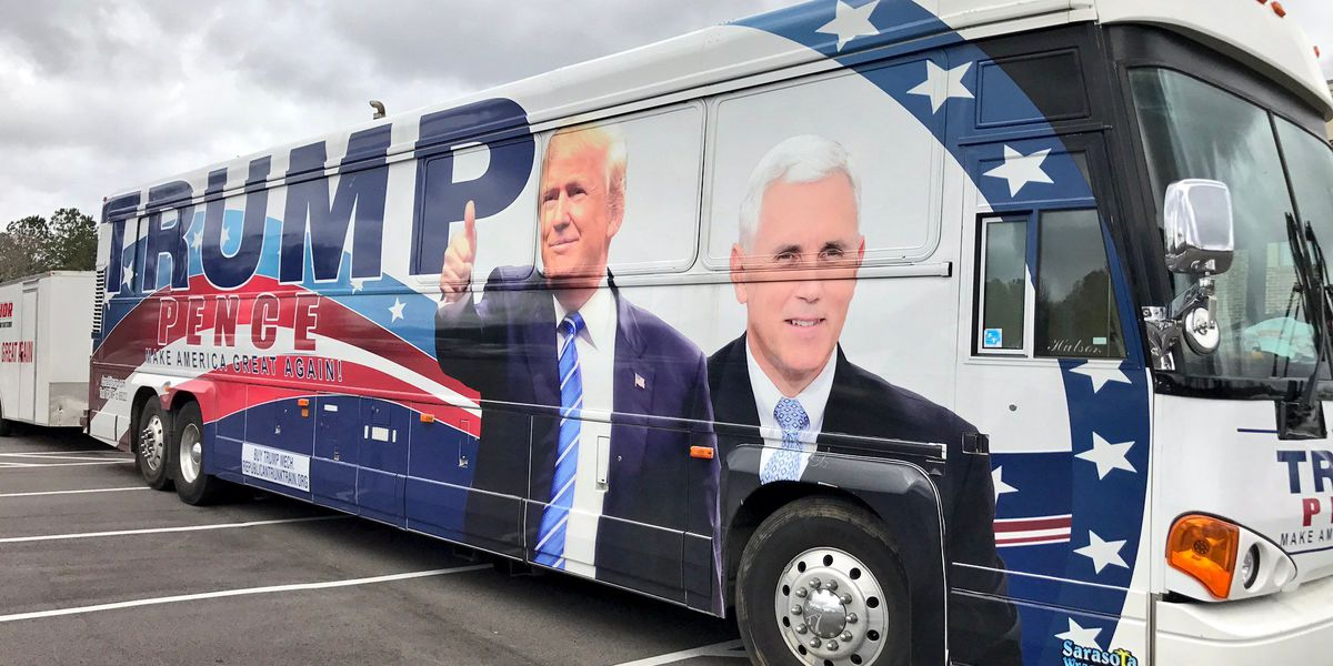 """Trump """"Thank You"""" tour stops by Republican Women's luncheon"""