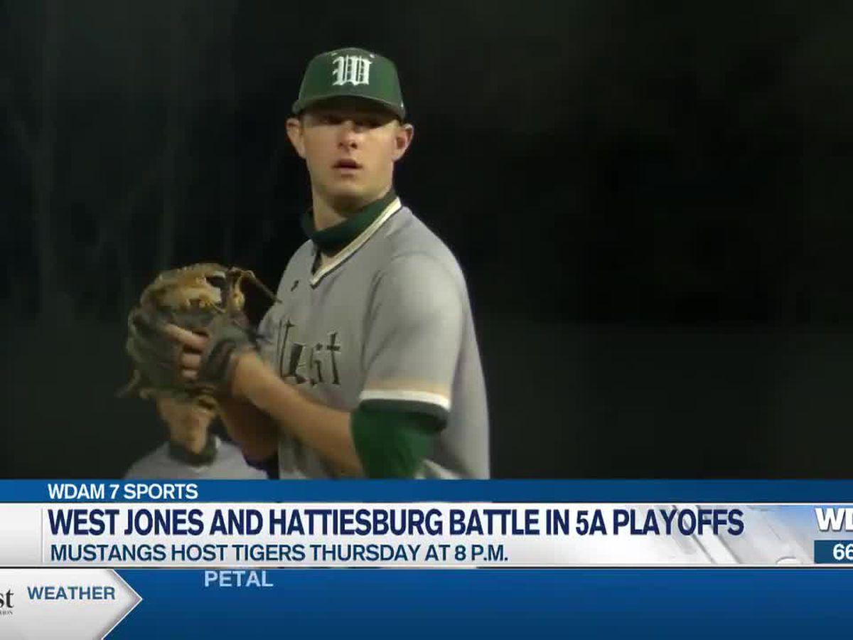 Tigers meet Mustangs in 5A baseball battle