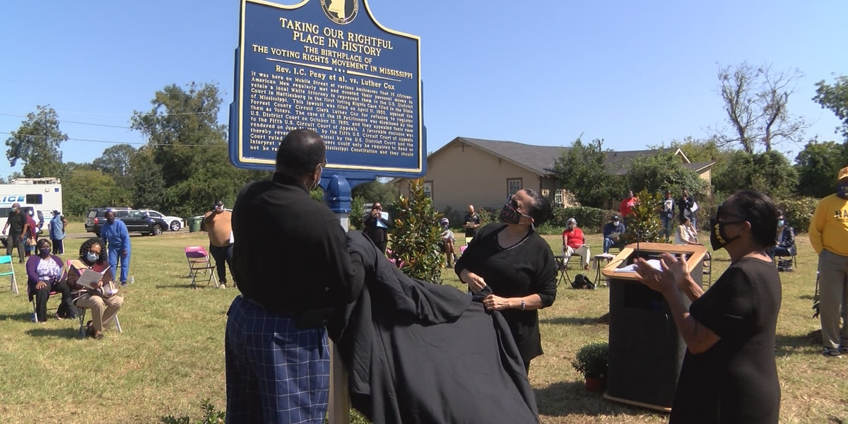 New civil rights marker unveiled during 15th Mobile Street Fest
