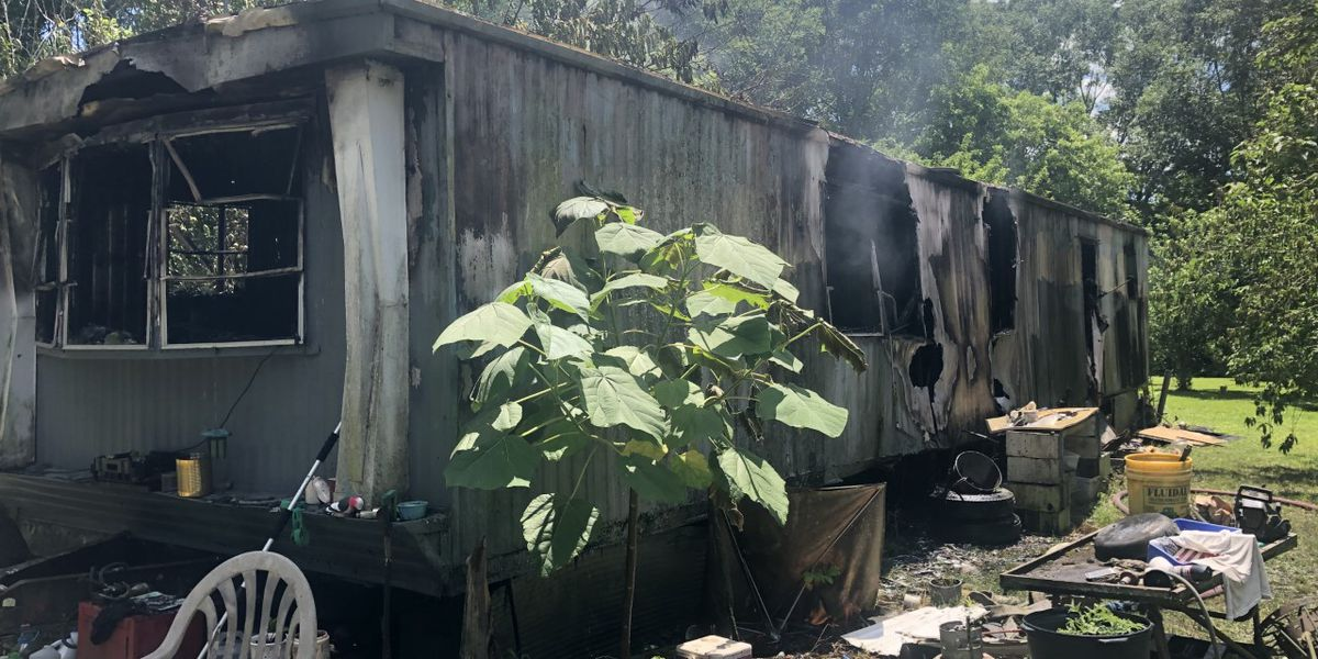 Home sustains significant damage, dog lost in Ovett fire