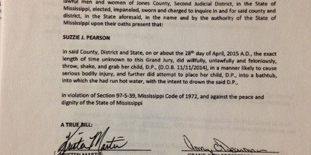 Laurel woman pleads guilty to felonious battery of 5-month-old child