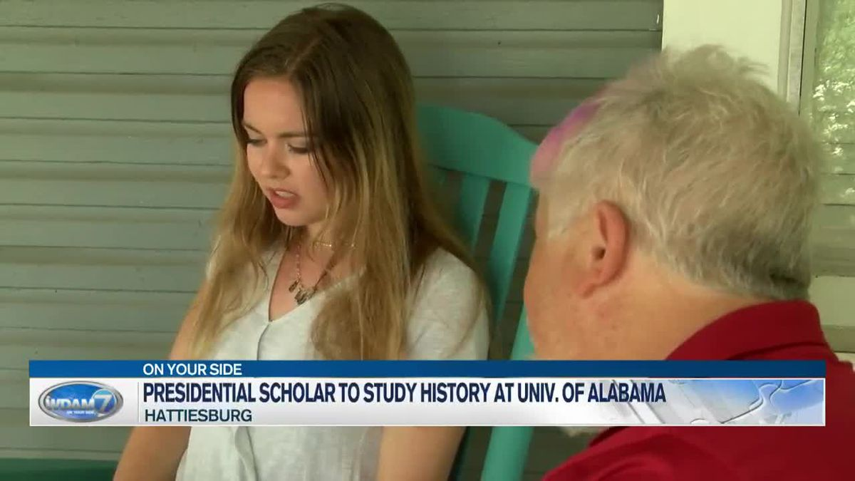 Hattiesburg Presidential Scholar to major in history at UA