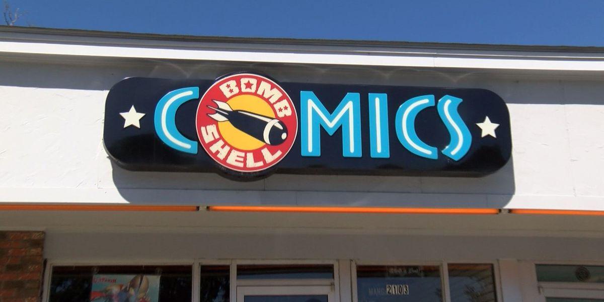 Bombshell Comics in Hattiesburg closing its doors