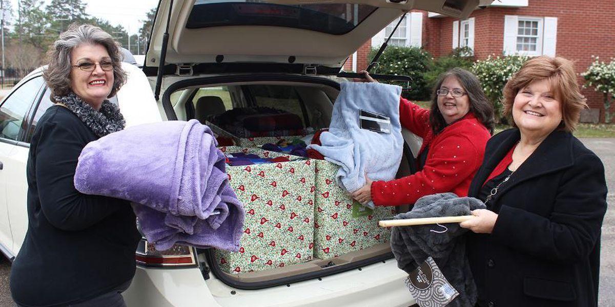 WCU donates blankets to elderly
