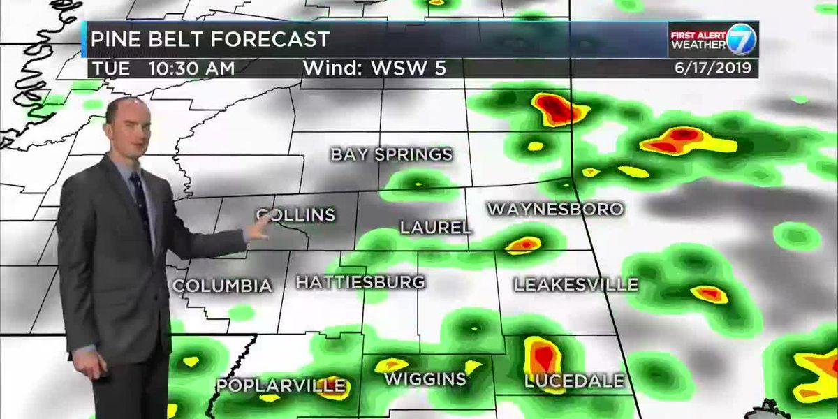 First Alert: Tuesday forecast