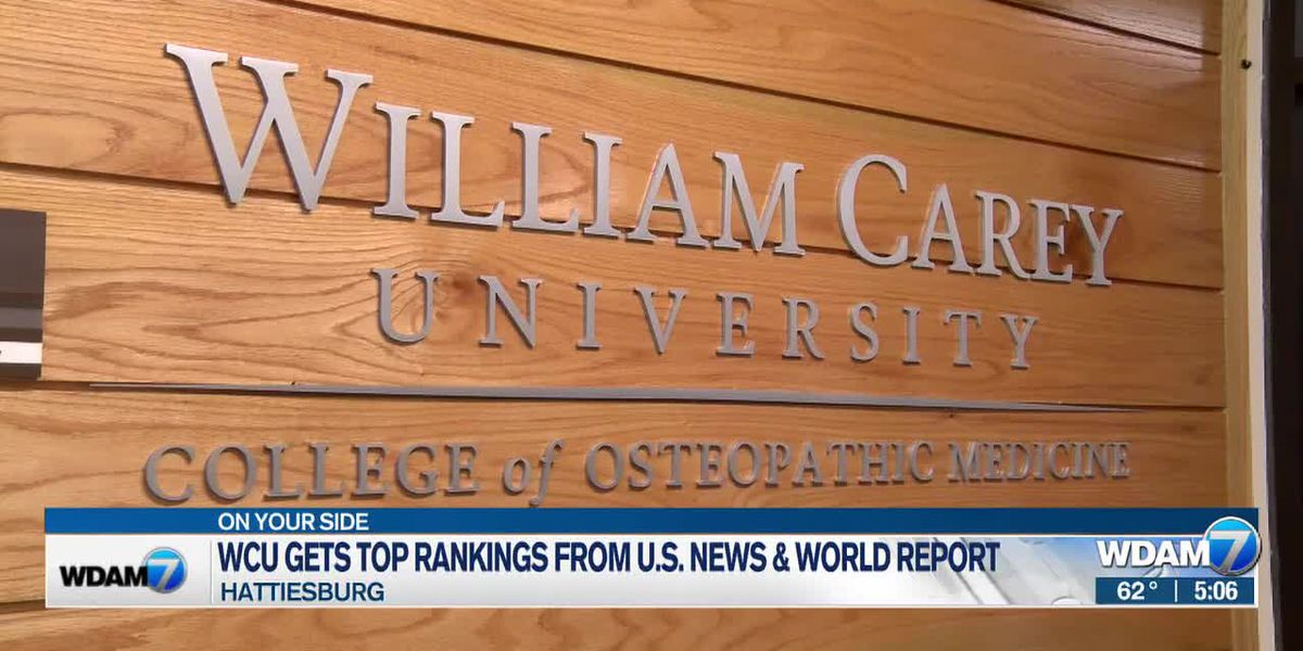 WCU med school gets 3 top 10 rankings from U.S. News and World Report
