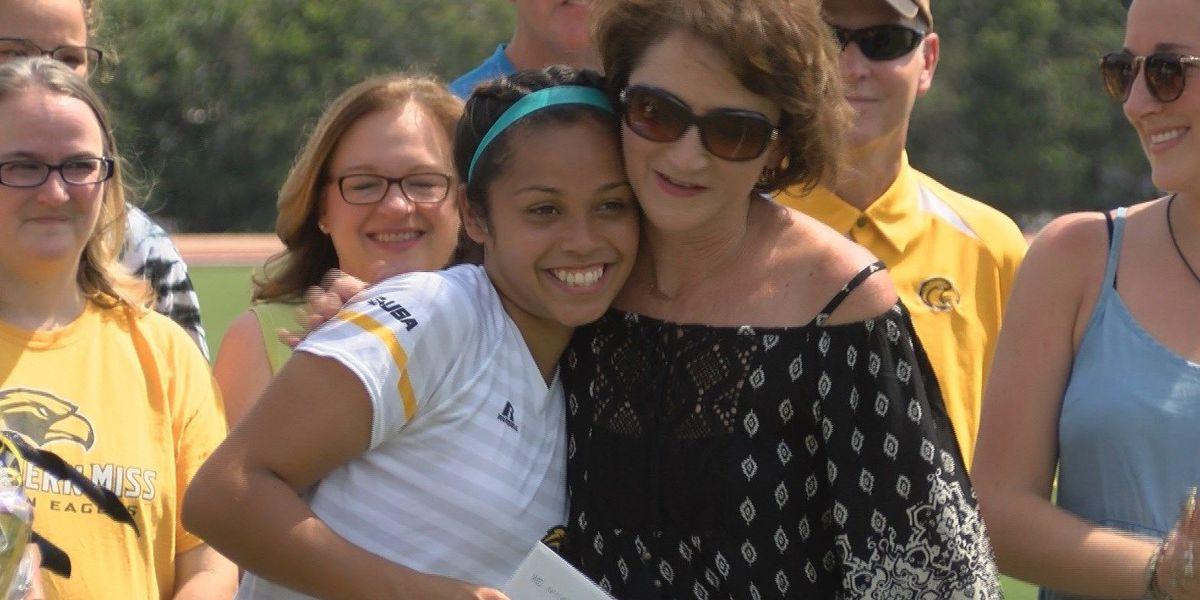"Southern Miss Soccer's Karen Torres receives first ""Blake Nettles Scholarship"""