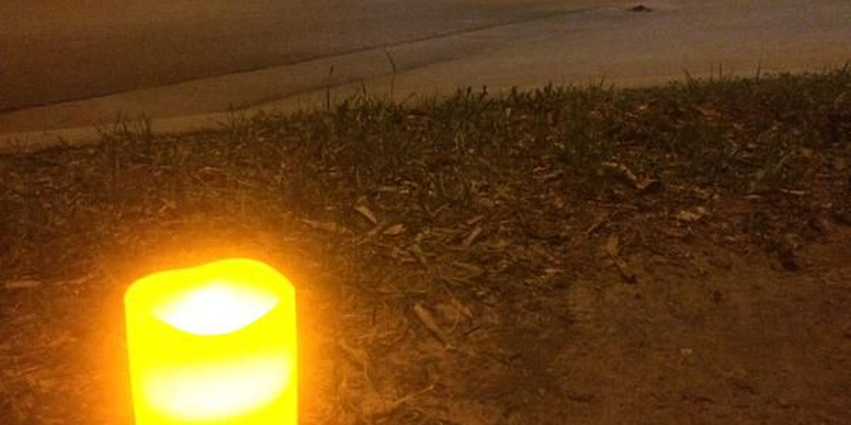 Fifth annual candlelight vigil honors Mississippi's fallen law enforcement officers