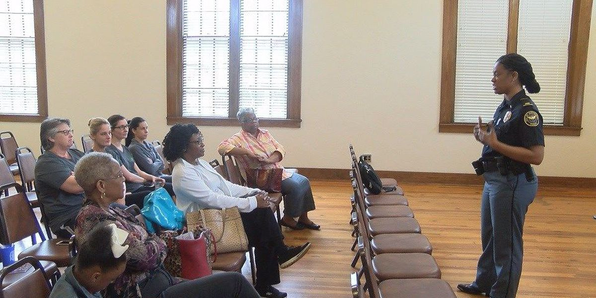 Hattiesburg Police Department hosts Domestic Violence program
