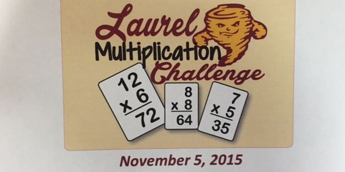Fall Multiplication Championship held in Laurel