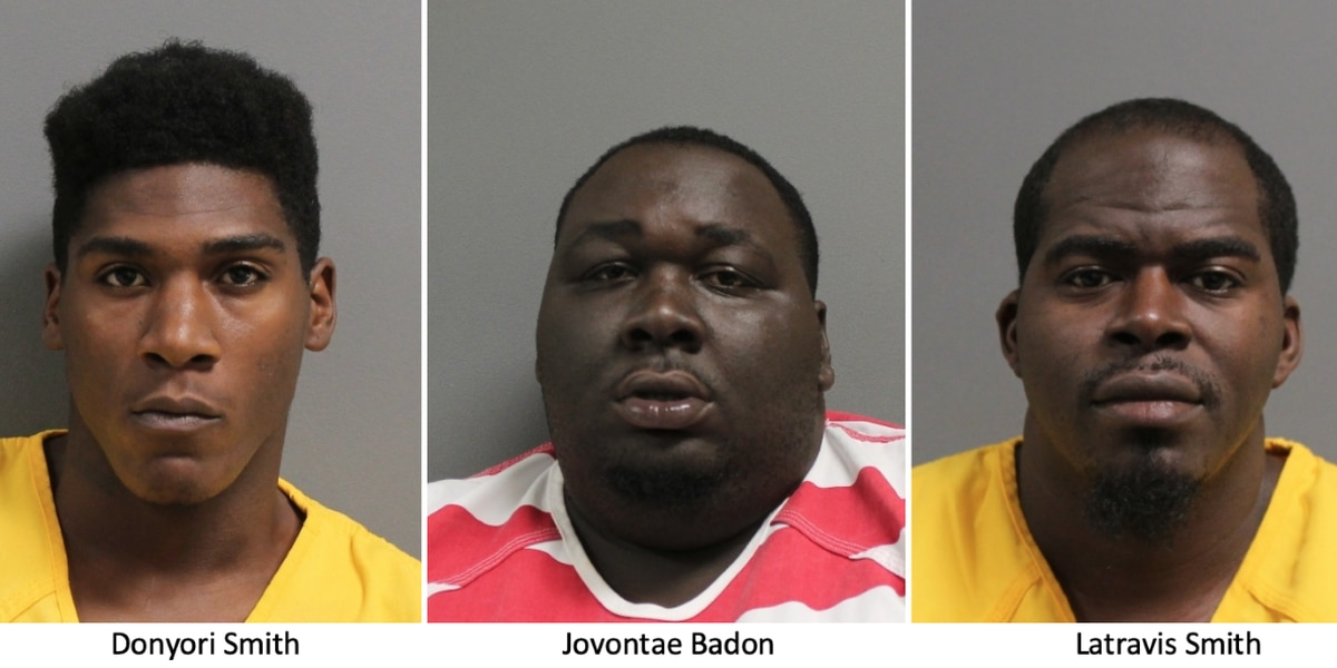 HPD help seize weapons, arrest 3 on felony charges Tuesday
